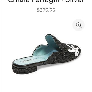 Disney Shoes - Chiara Ferrangi x Disney Glitter Mules